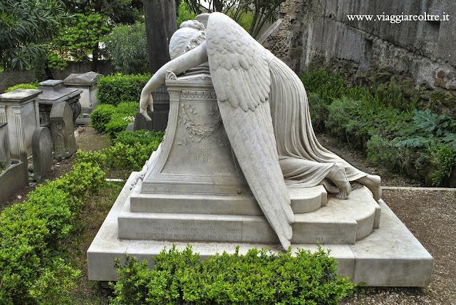 Cimitero Acattolico di Roma Angelo del Dolore
