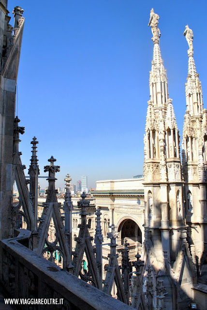 Visita alle terrazze del Duomo di Milano
